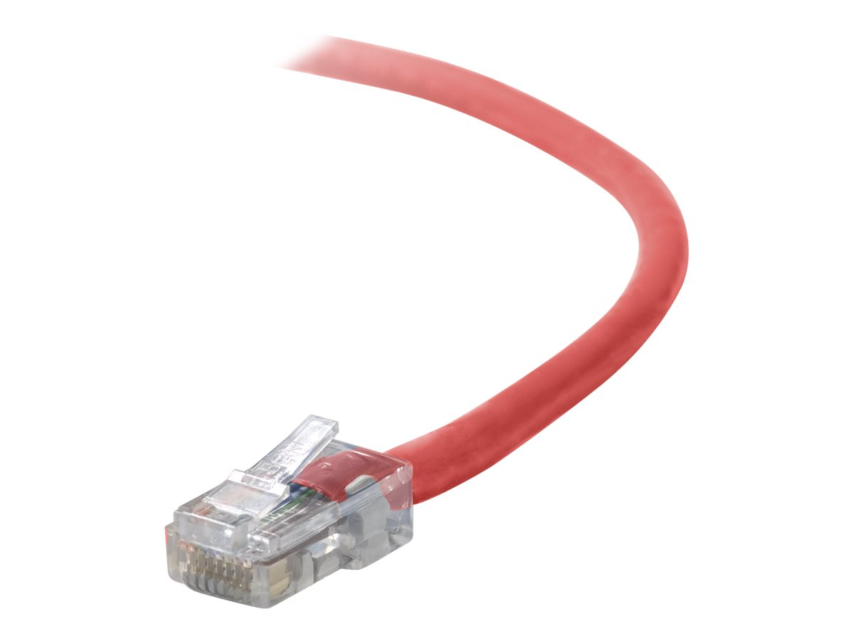 Belkin patch cable - 3 m - red
