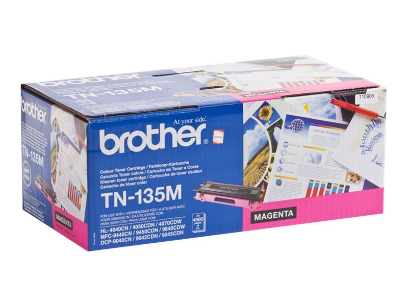 Brother TN-135M - magenta - original - toner cartridge