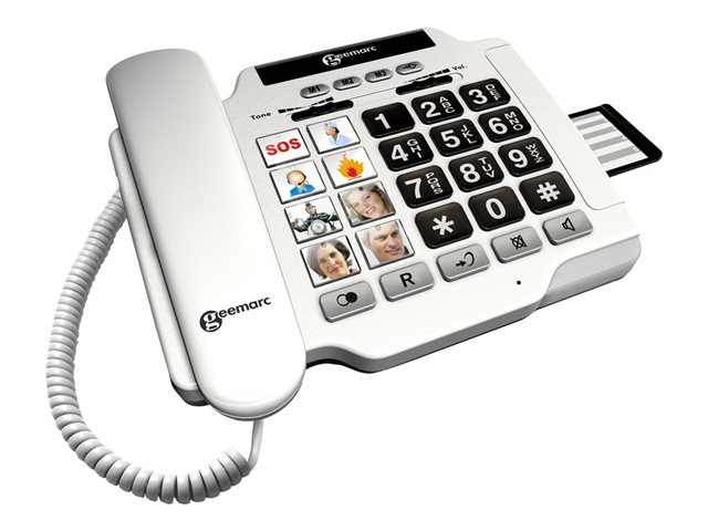 Image of Geemarc PhotoPHONE 100 - corded phone