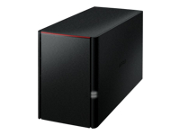 BUFFALO LinkStation 220 - NAS server - 2 bays - 6 TB - SATA 3Gb/s - HDD 3 TB x 2 - RAID 0, 1, JBOD - Gigabit Ethernet