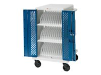 Bretford Core M CORE36MSBP-90D Cart (charge only) for 36 tablets / notebooks lockable steel