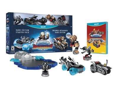 Skylanders SuperChargers Racing Dark Edition Starter Pack Wii U