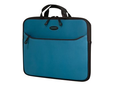 Mobile Edge SlipSuit Notebook sleeve 16INCH black, teal