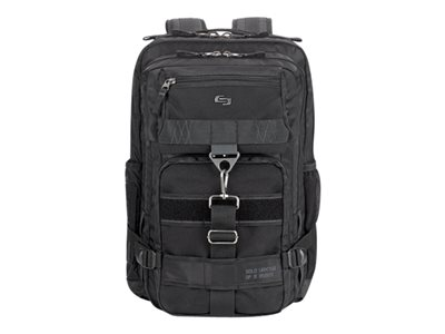 SOLO Black Ops Altitude Notebook carrying backpack 17.3INCH asphalt gray