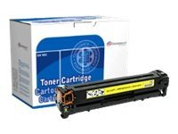 Image of Dataproducts - yellow - remanufactured - toner cartridge ( replaces HP 125A )