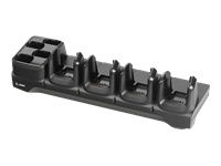 Zebra ShareCradle 4Slot Ethernet - Handheld charging cradle - output connectors: 8 - for Zebra MC3300 Premium, MC3300 Premium Plus, MC3300 Standard, MC3300-G, MC3330R, MC3390R