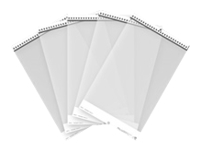 Fujitsu - Scanner carrier sheet - transparent (pack of 5) - for fi-61XX, 62XX, 7030, 71XX, 72XX, 7300, 800; Network Scanner N7100; ScanSnap iX1500, iX500