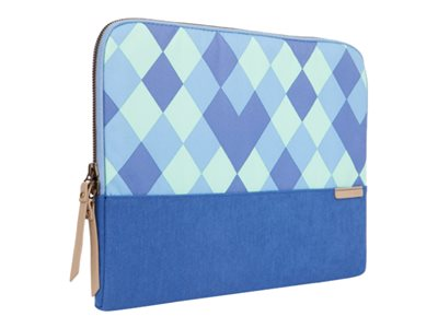 STM Grace Notebook sleeve 11INCH 12INCH blue diamonds