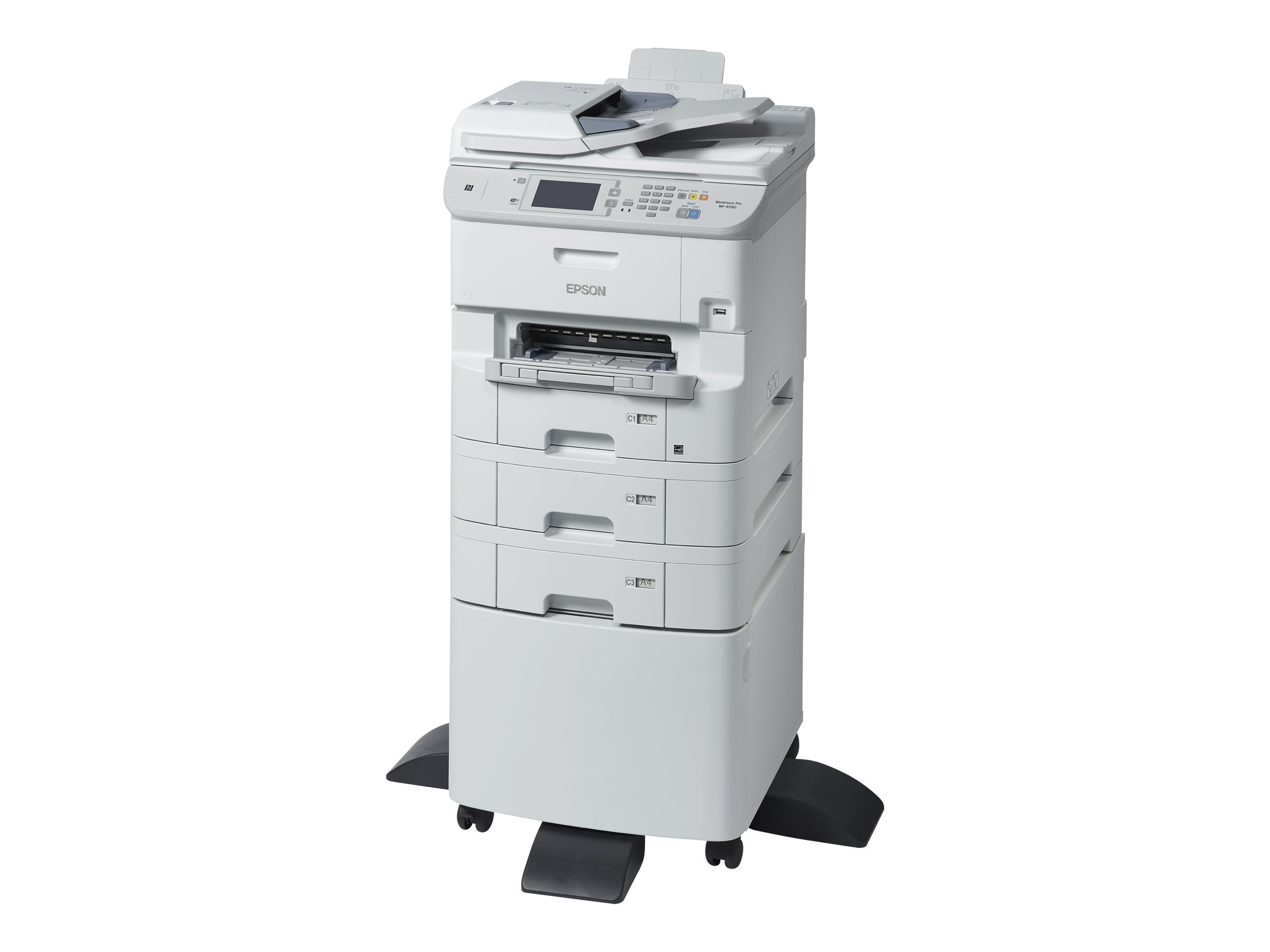 Epson WorkForce Pro WF-6590D2TWFC - Multifunktionsdrucker - Farbe - Tintenstrahl - Legal (216 x 356 mm) (Original) - A4/Legal (Medien)