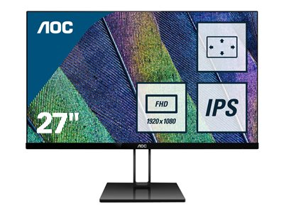 AOC 27V2Q 27' 1920 x 1080 HDMI DisplayPort 75Hz
