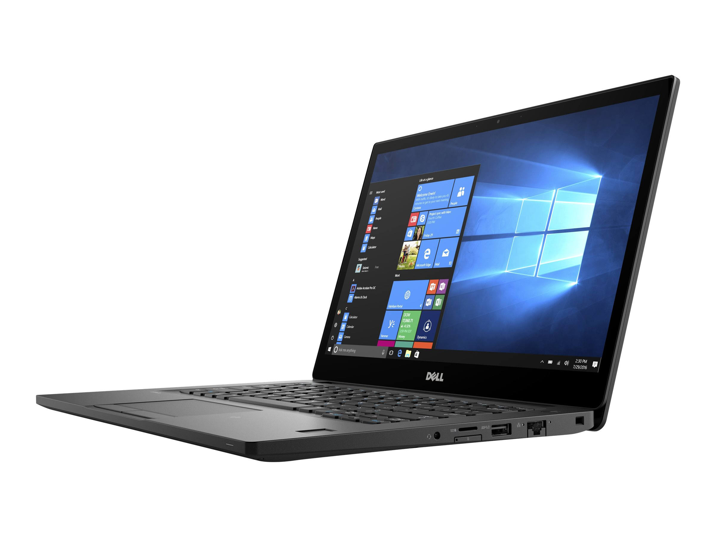 Dell Latitude 7280 - Ultrabook - Core i7 7600U / 2.8 GHz - Win 10 Pro 64-Bit - 8 GB RAM - 256 GB SSD