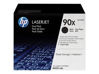 HP Toner/Black 90X Dual Pack Cartridge