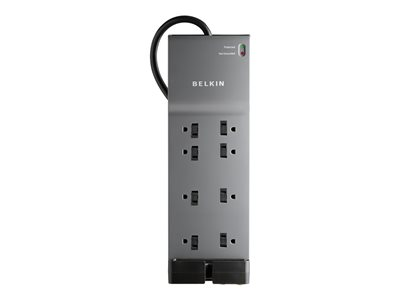 Belkin Home/Office with telephone protection Surge protector AC 125 V 1875 Watt
