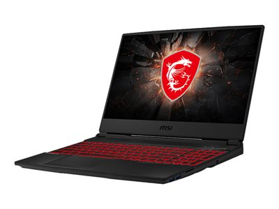 MSI GL65 9SC 002 Core i5 9300H / 2.4 GHz Windows 10 Home 8 GB RAM 512 GB SSD NVMe
