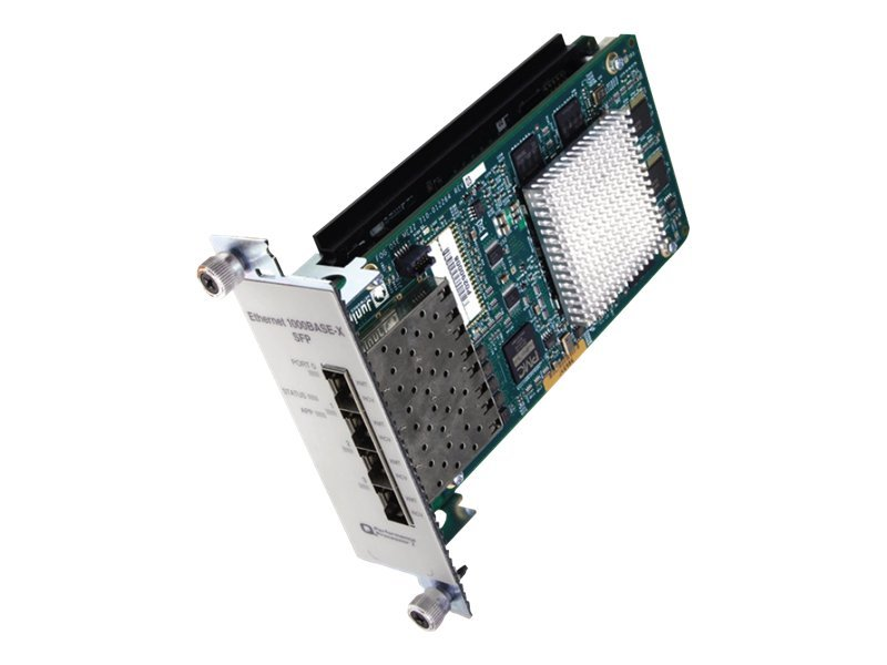 Juniper Networks Enhanced IQ2 Physical Interface Card - expansion module - 4 ports