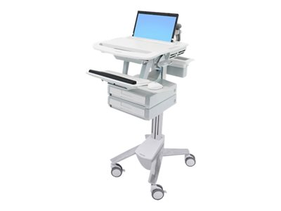 Ergotron StyleView Cart for notebook / keyboard / mouse / scanner (open architecture) medical