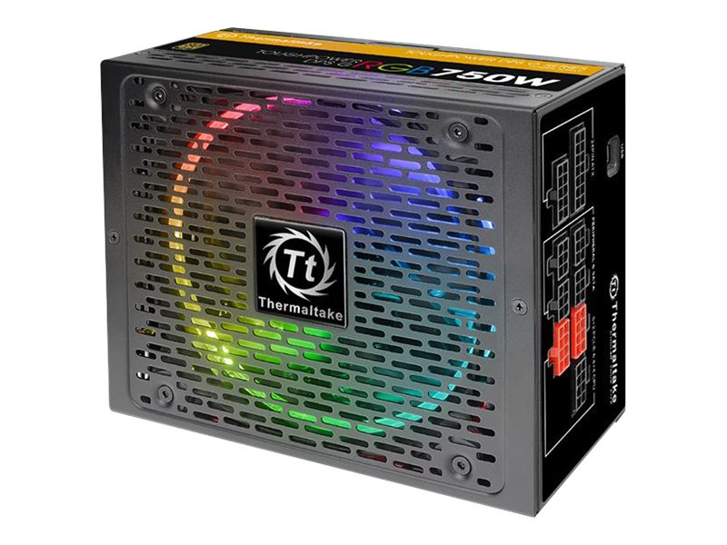 Thermaltake Toughpower DPS G RGB 750W - Stromversorgung (intern) - ATX12V 2.31/ EPS12V 2.92 - 80 PLUS Gold - Wechselstrom 100-240 V - 750 Watt