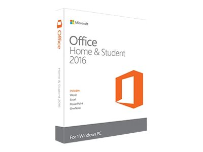 Microsoft Office Home and Student 2016 Licens 1 PC Windows