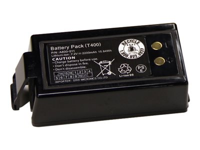 Star BATTERY PACK Printer battery 1 x lithium ion 2200 mAh