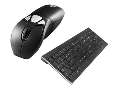 Gyration Air Mouse Go Plus with Full Sized Keyboard Keyboard and mouse set wireless 2