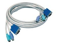TRENDnet TK C15 - keyboard / video / mouse (KVM) cable - 4.5 m