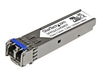 StarTech.com Cisco Compatible Gigabit Fiber SFP Module SM LC - 10km - SFP (mini-GBIC) transceiver module - Gigabit Ethernet - 1000Base-LH - LC single-mode - up to 10 km - 1310 nm - for P/N: PEX1000SFP2