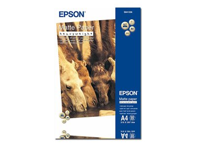 Papier photo Epson - papier - 50 feuille(s) - A4 - 167 g/m²