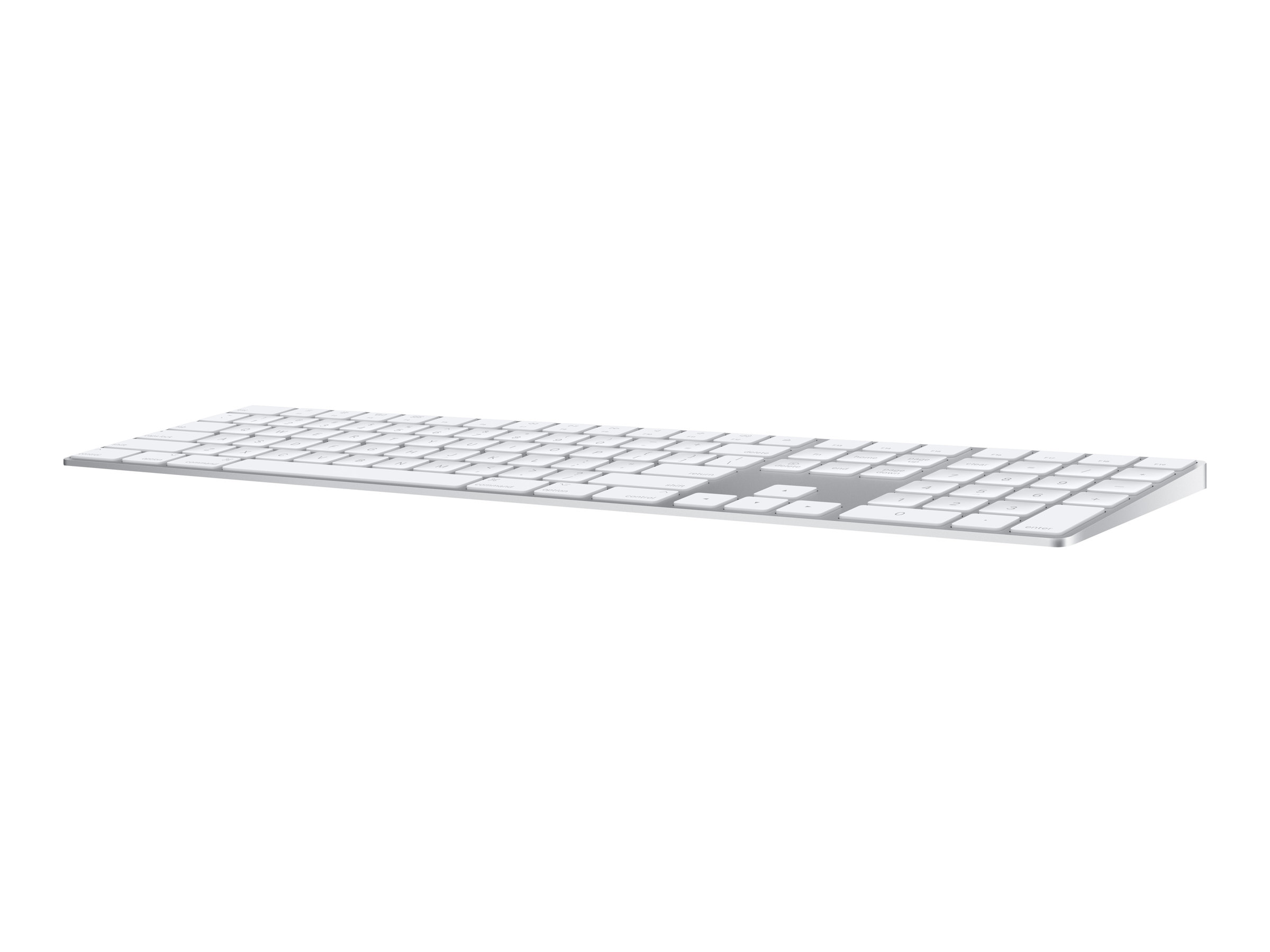 Apple Magic Keyboard with Numeric Keypad - keyboard - Swiss - silver