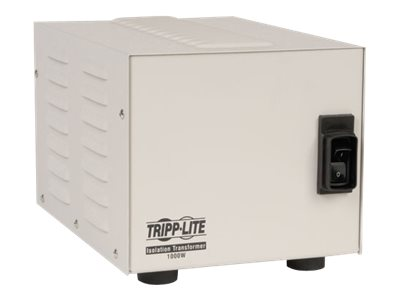 Tripp Lite 1000W Isolation Transformer Hopsital Medical with Surge 120V 4 Outlet 10ft Cord HG TAA GSA - transformer - 1…