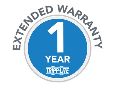 Tripp Lite 1-Year Extended Warranty for select Products - extended service agreement - 1 year