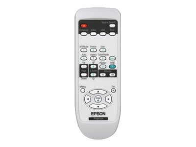 Epson - Remote control - for BrightLink 450Wi Interactive; PowerLite 825+, 84+, 85+