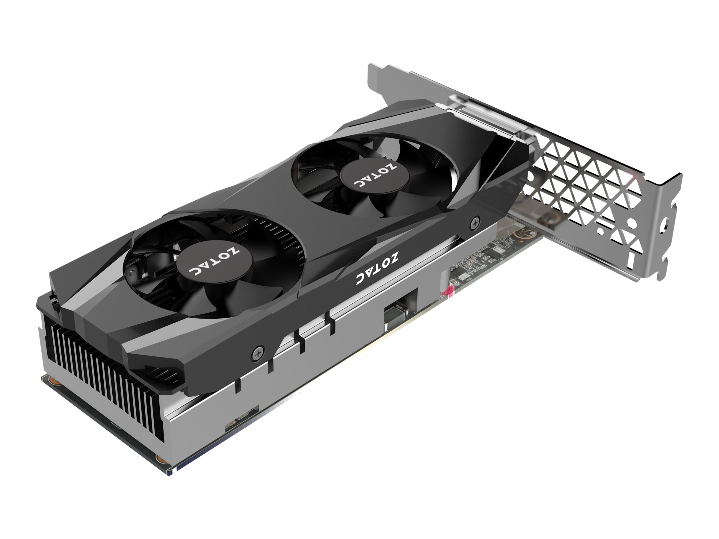 ZOTAC GeForce GTX 1050 Ti - Grafikkarten - GF GTX 1050 Ti - 4 GB GDDR5 - PCIe 3.0 Low Profile - DVI, HDMI, DisplayPort