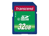 Transcend Cartes Flash TS32GSDHC4