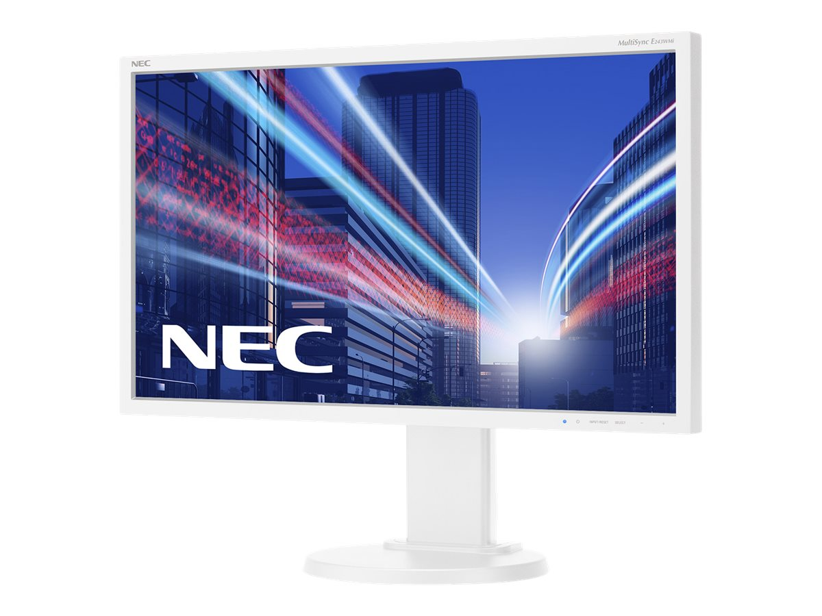 NEC MultiSync E243WMI-WH - LED-Monitor - 60.5 cm (23.8
