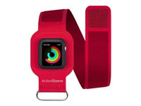 Twelve South ActionSleeve 42 mm Arm pack for smart watch red for Appl