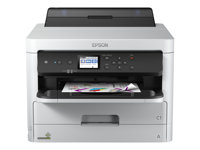 Epson WorkForce Pro WF-C5210DW - Imprimante - couleur - Recto-verso - jet d'encre - A4/Legal - 4 800 x 1 200 ppp - jusqu'à 34 ppm (mono) / jusqu'à 34 ppm (couleur) - capacité : 330 feuilles - USB 2.0, Gigabit LAN, Wi-Fi(n), hôte USB, NFC