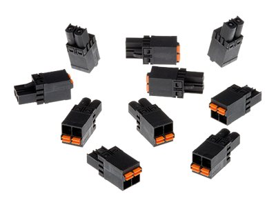 AXIS Connector A 2-pin 5.08 Straight - Kamerastecker (Packung mit 10)