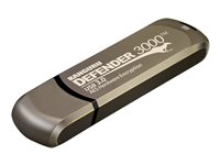 Kanguru Defender 3000 Secure FIPS Hardware Encrypted USB flash drive encrypted 128 GB