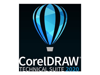 CorelDRAW Technical Suite 2020 License 1 seat academic, Higher Education