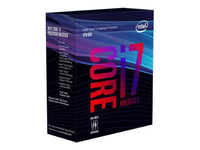 Intel CPU Core  I7-8700K 3.7GHz 6 kerner LGA1151