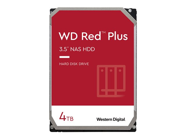 WD Red Plus NAS Hard Drive WD40EFRX