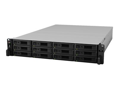 Synology SA3400 NAS server 12 bays rack-mountable RAID 0, 1, 5, 6, 10, JBOD, RAID F1