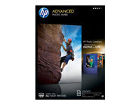 HP Advanced Glossy Photo Paper - Glossy - A4 (210 x 297 mm) - 250 g/m² - 25 sheet(s) photo paper - for Envy 45XX, 55XX, 7644; Officejet 6000 E609; PageWide MFP 377; PageWide Pro 452