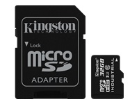 Picture of Kingston - flash memory card - 32 GB - microSDHC UHS-I (SDCIT/32GB)