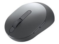 Dell Mobile Pro MS5120W - Mouse - optical - 7 buttons - wireless - 2.4 GHz, Bluetooth 5.0 - titan gray - with 3 years Advanced Exchange Service