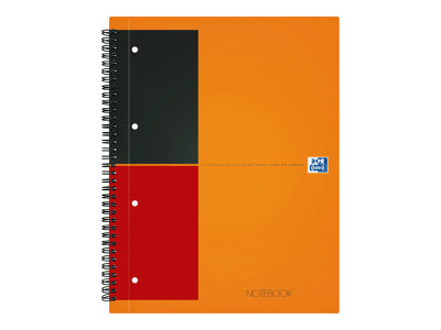 Cahiers professionnels Oxford International A5+ - Cahier - 160 pages - réglé