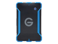 G-Technology G-DRIVE ev ATC GDEVATCU3EA10001BAB - Hard drive - 1 TB - external (portable) - USB 3.0 / SATA 3Gb/s - 7200 rpm - Plug and Play