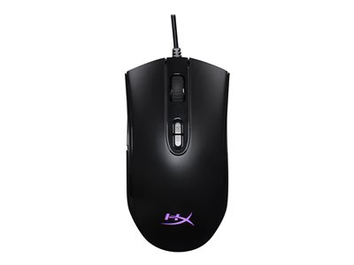 HyperX Pulsefire Core Optisk Kabling Sort