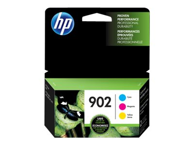 HP 902 3-pack yellow, cyan, magenta original blister ink cartridge