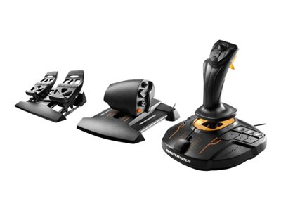 ThrustMaster T.16000M FCS Flight Pack Orange Sort